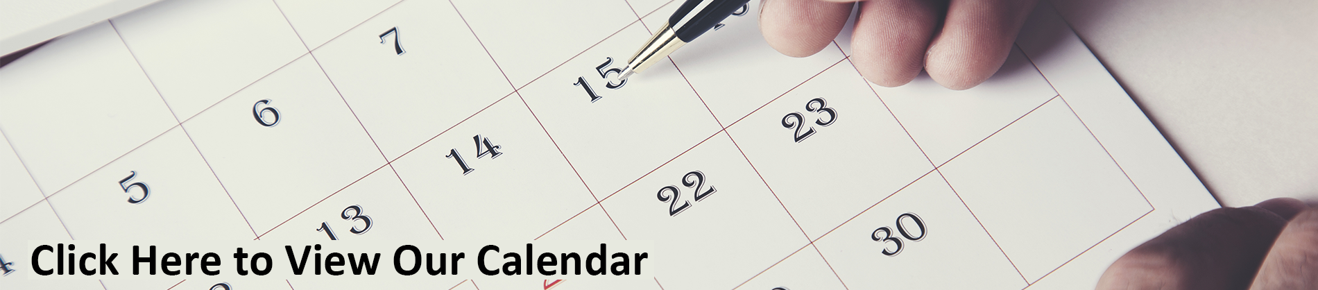 Click Here to visit our calendar